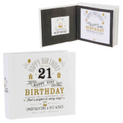 Signography Birthday Photo Album 4''x6'' - 21st