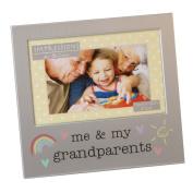 Juliana Aluminium Photo Frame 6'' x 4'' - Me & My Grandparents