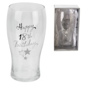 Birthdays by Juliana - Pint Glass 18th Birthday