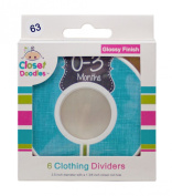 #63 Baby Closet Dividers Boy Clothes Organisers Set of 6