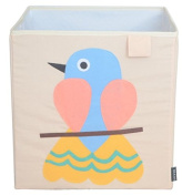 Toy Storage Box Bin Organiser Collapsible, Bird- 100% Money Back Guarantee