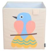 Toy Storage Box Bin Organiser Collapsible, Bird- 100% Money Back Guarantee