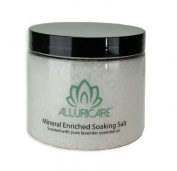 An Eternity of Sunlight and Water in One Bath - Great Salt Lake Mineral Enriched Soaking Salts - Relax and Soothe Your Body and Emerge Soft, Smooth and Silky - Infused with Lavender Essential Oil to Aid With Sleeping - Less Expensive Than Dollar Store ..