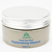 World Renowned Ancient Remedy for Ageing and Acne - Dead Sea Facial Masque by Alluricare - 100ml - Natural Pore Cleanser and Moisturiser for All Skin Types - Detoxify and Purify Your Skin - Restore Youth and Radiance!