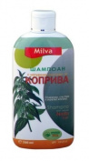 Nettle Shampoo - Helps Regulate Sebum Production, Reduce Dandruff & Ease Scalp Irritation - For Strong, Healthy Hair- 200ml by Milva-Nia