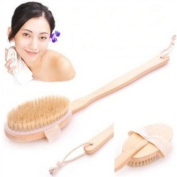 Long Handle Back Rubs Massager Bath Brush Easy Spa Applicator