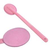 Long Handle Back Rubs Massager Bath Brush Easy Lotion Applicator
