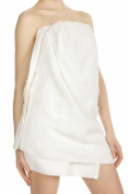 Comfy White Microfiber Body Towel - 70cm x 140cm