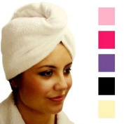Daylee Naturals Microfiber Twist and Wrap Hair Turban