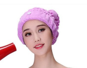 Super absorbent dry hair cap, thickening and soft dry hair towel