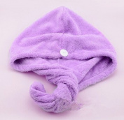 Super soft thickening of dry hair towel, super water absorption dry hair towel