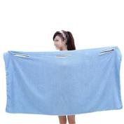 Viskey Bath Adult Children Towel, Blue