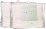 Microfiber Hair Towel, Pink, 48cm x 100cm , 2 pk