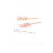 Ban.do Girl Talk Bobbi Set Hair Pin, OMG/XOXO/LOL