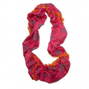 Natural Life Infinity Scarf Headband, Pink/Orange