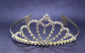 Exquisite Rhinestones Bridal Wedding Crown Headband