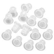 Topro Plastic Tattoo Ink Cup Caps Pots Clean and Hygiene