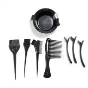 Hairart 8pcs Colour Tool Kit For Bleaching High Lighting and Colouring