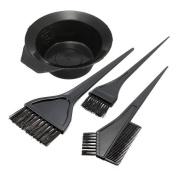 Hair Colour Dye Bowl Comb Brushes Tool Kit Set Tint Colouring