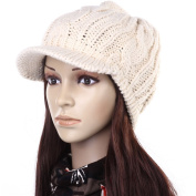 ANDI ROSETM Slouch Beanies Button Hats Knitted Crochet Baggy Skullies Beret Cap Hat for Women Winter Ski Party