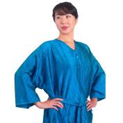 Ocean Blue Salon Client Gown, Kimono Style, 110cm Long, 300mls