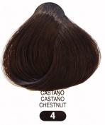 Terme Professional Permanent Hair Colouring Cream 100ml #4 Chestnut