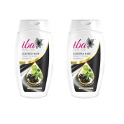 2 x Iba Halal Care Covered Hair Conditioning Shampoo, 180ml