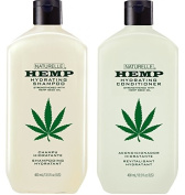 Hemp Hydrating Shampoo and Hydrating Conditioner 400ml Two Pack
