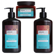 Arganicare Shampoo, Conditioner & Hair Masque 3 pc Gift Set