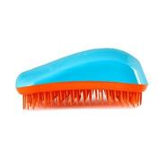 Dessata Detangle Brush, Turquoise and Tangerine