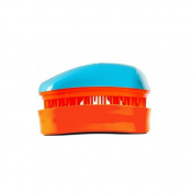 Dessata Mini Detangle Brush, Turquoise and Tangerine