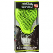 Michel Mercier Professional Detangling Hair Brush Normal, Green-1 ea