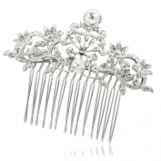 Rhinestone Crystal Comb Hairpins Hair Accessories for Wedding Bridal Prom 2260R