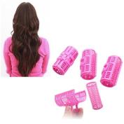 6pcs/lot Natural Sleeping Roll Hair Clip Hair Roller Hair Curler Maker Hair Device