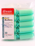 Annie Large Foam Hair Rollers - 10 Pk.
