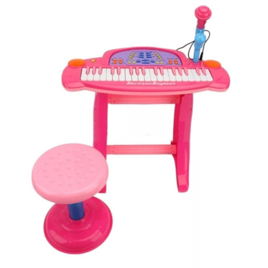 Kids Childrens Electronic 36 Key Keyboard Piano With Stand
