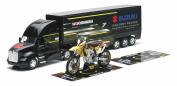James Stewart Yoshimura GIFT SET Suzuki RMZ450 Motocross Bike 1:12 / 1:32 Race Truck