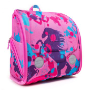 Ergonomic fun backpack YUU bag HUUG Pink with activity pack-for travel,school,outdoors