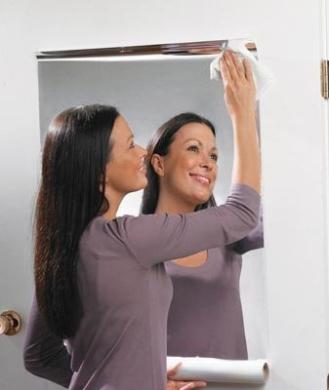 Homematetm Mirror Roll Self Adhesive Ideal Arts