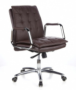hjh officebuerostuhl24 600934 directors office chair villa 10 nappa leather brown aspera 10 executive office nappa leather brown