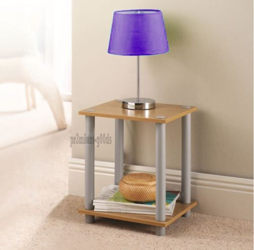 Wood Side Table Living Room Small Display Table Stand Book