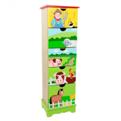 Teamson Farm Collection 5 Drawer Cabinet