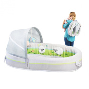 NOW in UK/EU!!! - LulyBoo Baby Lounge to Go, FOLDABLE Baby Bassinet / Travel Bed / Cot