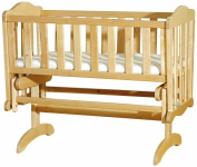 Saplings Glider Crib (Natural)