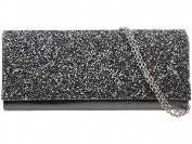 Womens Ladies Girls Diamante Fold Over Flap Prom Party Evening Dressy Occasion Hand Clutch Bag - K58