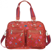 Oilily Winter Flash Large Carry All bag Red