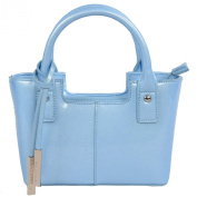 Urban Country Florence Mini Shopper in Sky Blue Gloss Finish