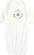 Funkoos Flower Ring Organic Baby Sleep Gown:6 - 9 mon Size