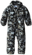Columbia Baby-Boys Infant Snowtop II Bunting, Black Critter, 12/18 Months Colour
