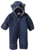 Columbia Unisex-Baby Infant Tiny Bear II Bunting, Collegiate Navy, 6-12 Months Colour